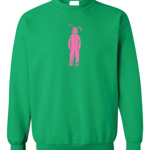 Bunny Suit - A Christmas Story - Ralphie, Green, Sweatshirt