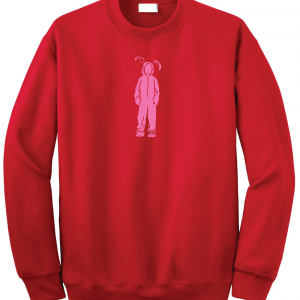 Bunny Suit - A Christmas Story - Ralphie, Red, Sweatshirt
