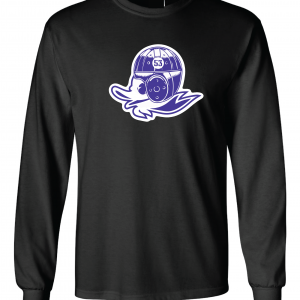 Glen Este Duck, Black, Long Sleeved