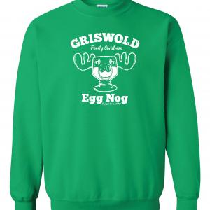 Griswold Egg Nog - Christmas, Green, Sweatshirt