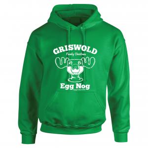 Griswold Egg Nog - Christmas, Green, Hoodie