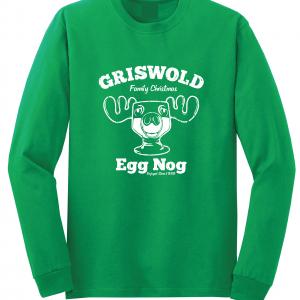 Griswold Egg Nog - Christmas, Green, Long Sleeved