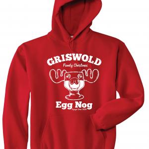 Griswold Egg Nog - Christmas, Red, Hoodie