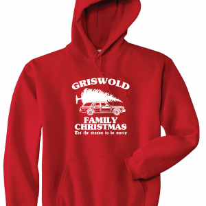 Griswold Family Christmas, Red, Hoodie