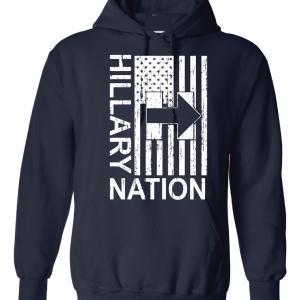 Hillary Nation 2016, Navy, Hoodie