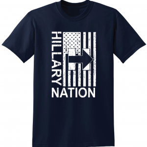 Hillary Nation 2016, Navy, T-Shirt
