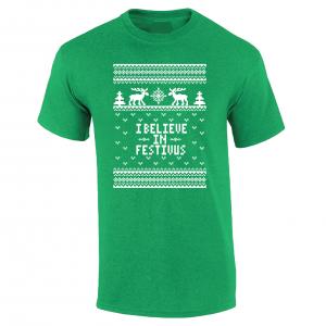 I Believe in Festivus - Seinfeld, Green, T-Shirt
