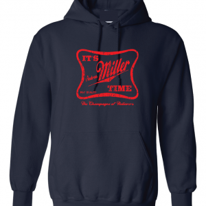 It's Andrew Miller Time - Cleveland Indians - MLB, Navy, Hoodie