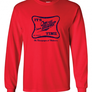 It's Andrew Miller Time - Cleveland Indians - MLB, Red, Long Sleeved