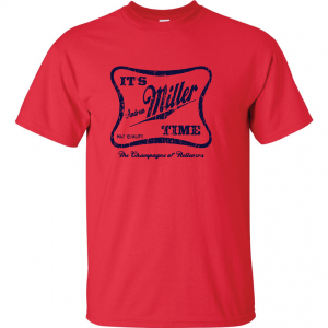 It's Andrew Miller Time - Cleveland Indians - MLB, Red, T-Shirt