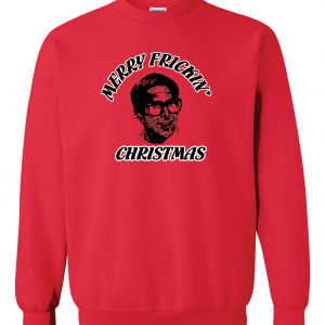 Merry Frickin' Christmas - Clark Griswold - Vacation, Red, Sweatshirt