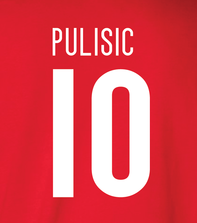 Pulisic 10 - Soccer - Christian Pulisic, Hoodie, Long Sleeved, T-Shirt