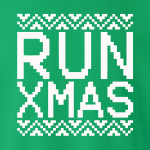 Run Xmas, Hoodie, Sweatshirt, Long Sleeved, T-Shirt