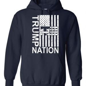 Trump Nation 2016, Navy, Hoodie