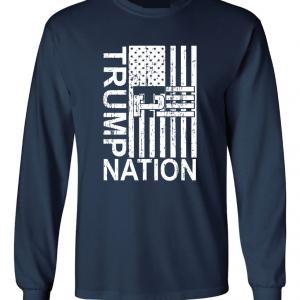 Trump Nation 2016, Navy, Long Sleeved