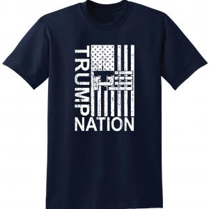 Trump Nation 2016, Navy, T-Shirt