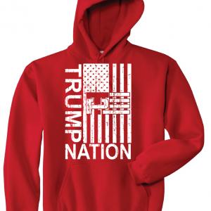 Trump Nation 2016, Red, Hoodie