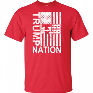 Trump Nation 2016, Red, T-Shirt