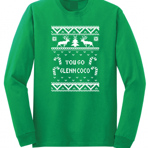 You Go Glen Coco - Mean Girls, Green, Long Sleeved