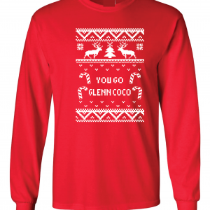 You Go Glen Coco - Mean Girls, Red, Long Sleeved