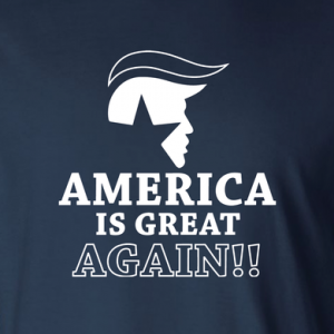 America Is Great Again - Donald Trump, Hoodie, Long Sleeved, T-Shirt