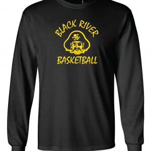 Black River Pirates Gildan Long Sleeve, Black