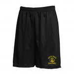 Black River Pirates Gildan Gym Shorts, Black