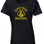 Black River Pirates Gildan Ladies T-Shirt, Black