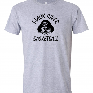 Black River Pirates Gildan T-Shirt, Grey