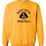 Black River Pirates Gildan Crew, Yellow
