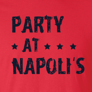 Party at Napoli's - Cleveland, Hoodie, Long Sleeved, T-Shirt