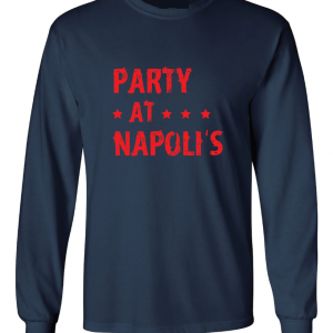 Party at Napoli's - Cleveland, Navy, Long Sleeved