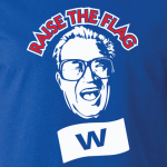 Raise the Flag - Harry Caray - Chicago Cubs, Hoodie, Long Sleeved, T-Shirt