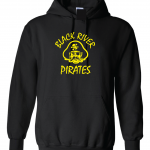 Black River Pirates Spirit Wear Hoodie, Black