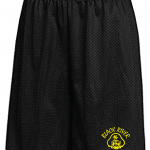 Black River Pirates Spirit Wear Shorts, Black