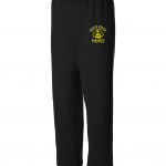 Black River Pirates Spirit Wear Sweatpants, Black