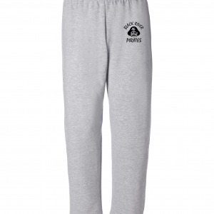 Black River Pirates Spirit Wear Sweatpants, Grey