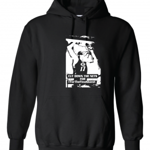 Cut Down the Nets - Glen Este Basketball - 2016, Hoodie, Black