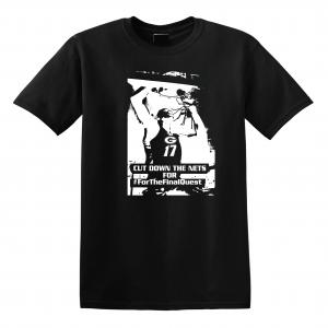 Cut Down the Nets - Glen Este Basketball - 2016, T-Shirt, Black