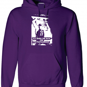 Cut Down the Nets - Glen Este Basketball - 2016, Hoodie, Purple