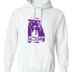 Cut Down the Nets - Glen Este Basketball - 2016, Hoodie, White