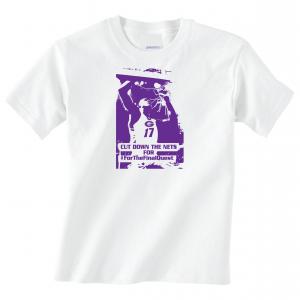 Cut Down the Nets - Glen Este Basketball - 2016, T-Shirt, White