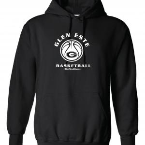 Final Quest - Glen Este Basketball - 2016, Hoodie, Black