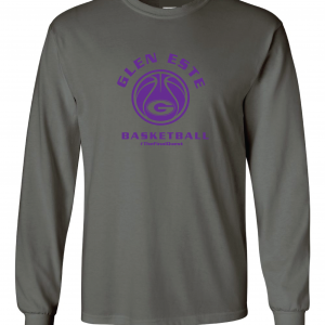 Final Quest - Glen Este Basketball - 2016, Long Sleeved, Charcoal