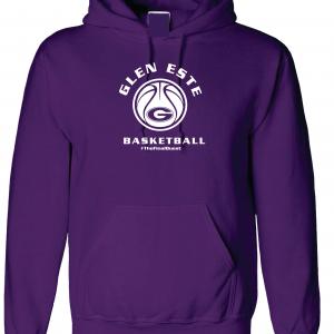 Final Quest - Glen Este Basketball - 2016, Hoodie, Purple