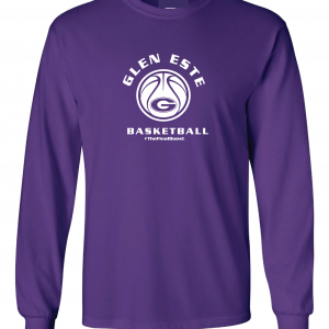 Final Quest - Glen Este Basketball - 2016, Long Sleeved, Purple