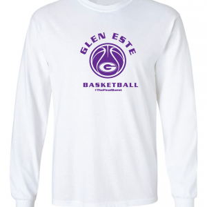 Final Quest - Glen Este Basketball - 2016, Long Sleeved, White