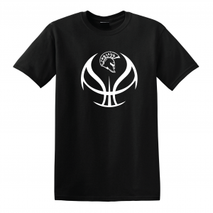 Trojan Basketball - Glen Este Basketball - 2016, T-Shirt, Black