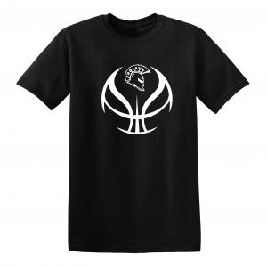 Trojan Basketball - Glen Este Basketball - 2016, T-Shirt, Black