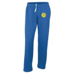 Mariemont Basketball Sweats - Blue, Warrior Head